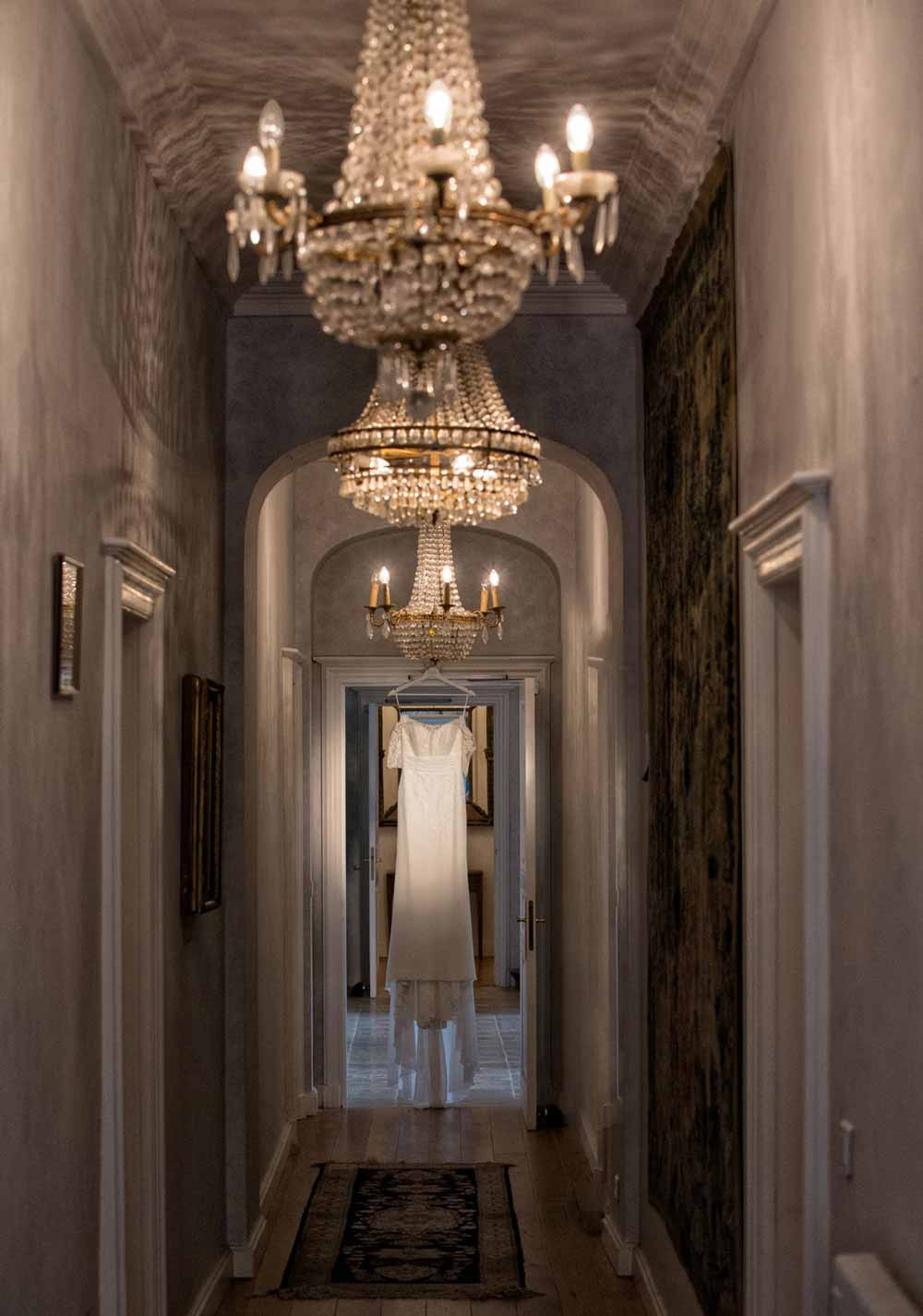 couloir du château